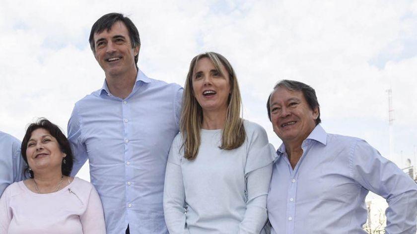 Graciela Ocaña, Esteban Bullrich, Gladys González y Héctor