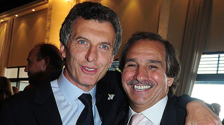 Macri y Nicolas Caputo07202018