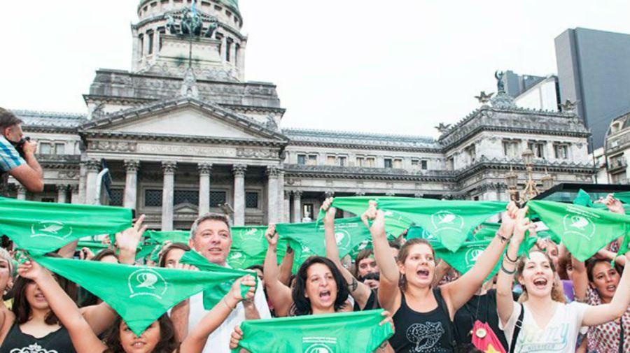 marcha a favor del aborto 08072018