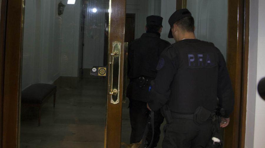 operativo allanamiento departamento Juncal Uruguay expresidenta Cristina Fernández de Kirchner