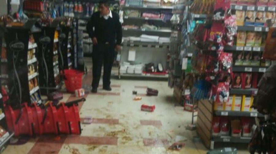Ataques a supermercados en Mendoza