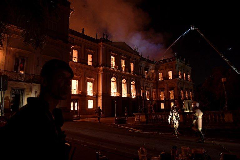 incendio museo brasil afp