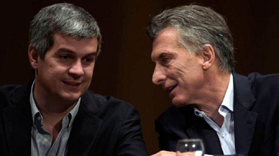 Peña y Macri