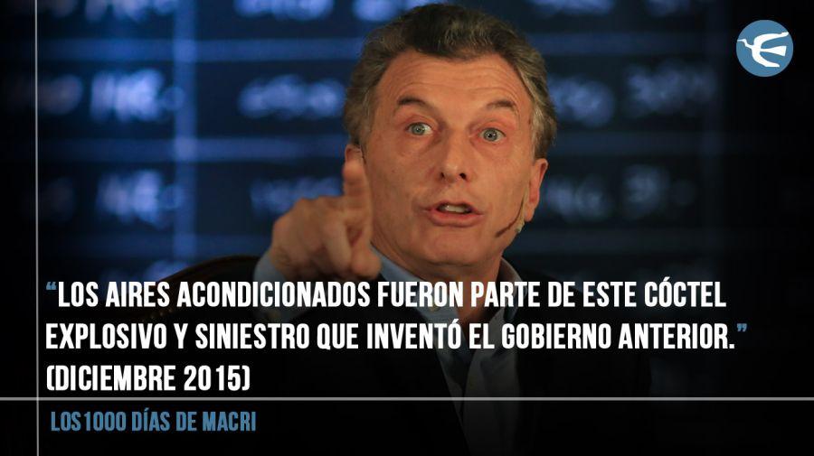 Los 1000 dias de gobierno de Macri 09042018