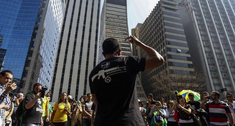 marcha bolsonaro AFP
