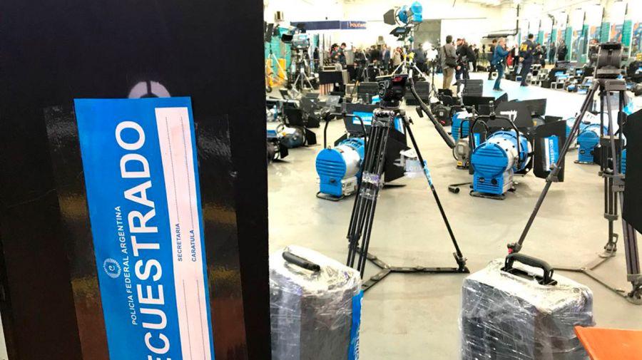 Incautan en Argentina valiosos equipos audiovisuales robados en Hollywood