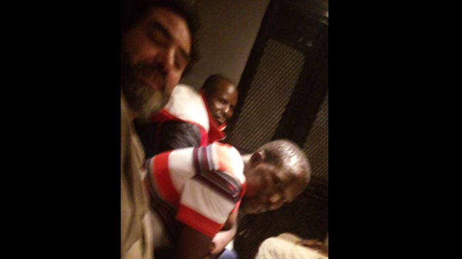 El dirigente de la CTEP Juan Grabois fue detenido junto a dos militantes del MTE y seis trabajadores de la vía pública senegaleses.