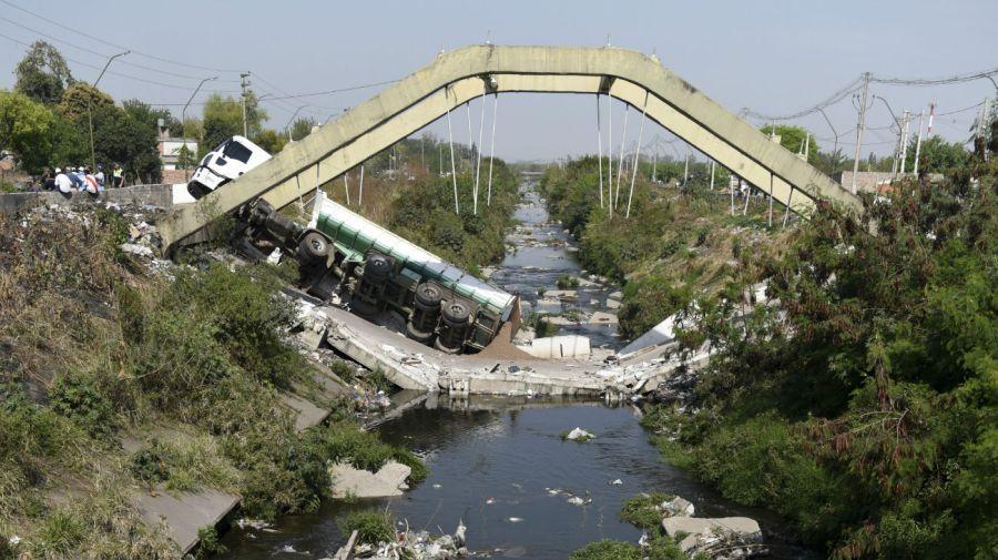 Derrumbe de puente en Tucumán