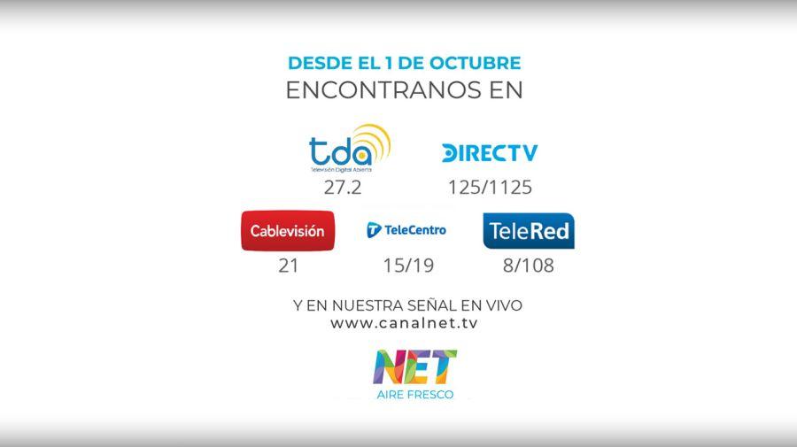 Con Net Tv se amplía la grilla de la televisión