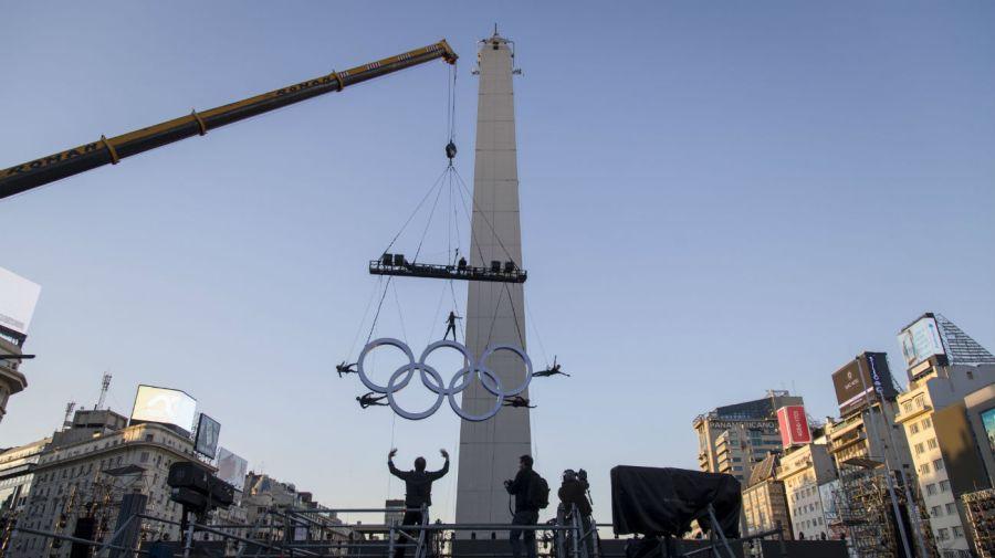 Buenos Aires se prepara para los Juegos Olímpicos de la Juventud.