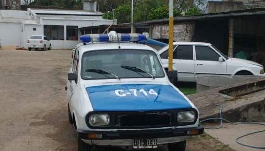Entre Ríos | Una comisaría de Nogoya recibió un Renault 12 para patrullar