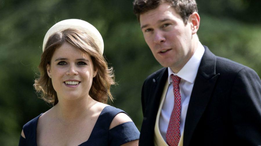 Windsor acoge la boda de la princesa Eugenia y Jack Brooksbank
