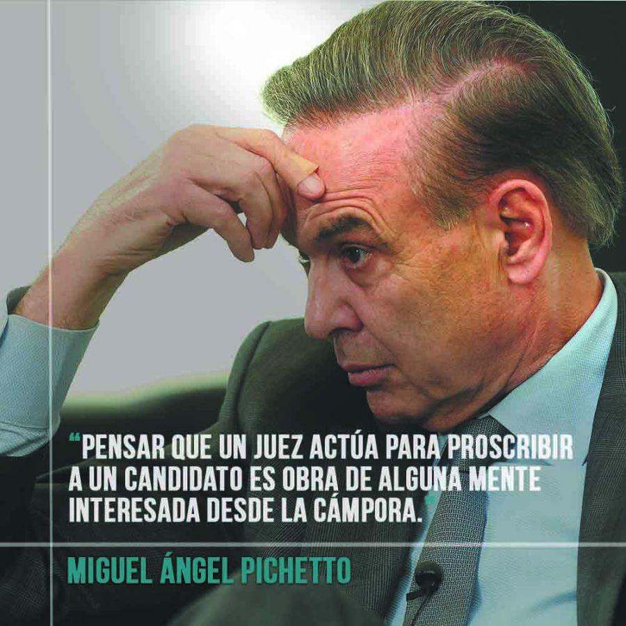 Miguel Ángel Pichetto, senador.