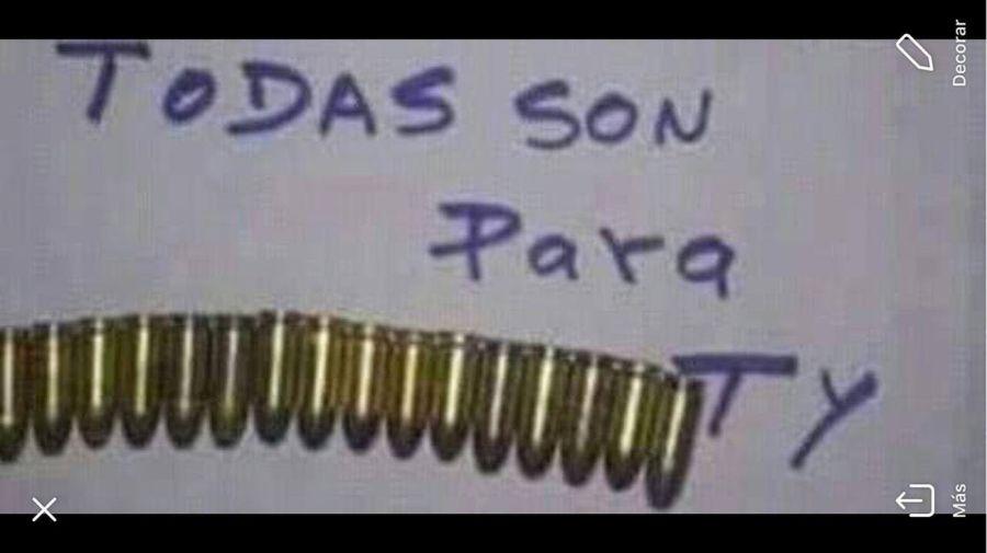 A Roxana Reyes le mandaron fotos de unas balas con una frase intimidante.