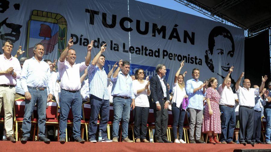 día de la lealtad en tucuman peronismo federal