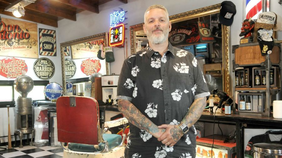 Diego Staropoli es tatuador desde hace 25 años.