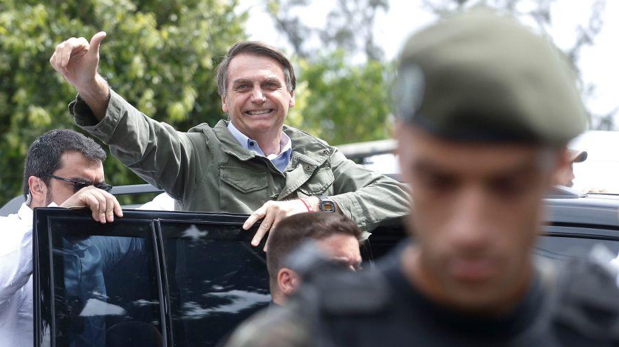 Archivo. Bolsonaro hablaría por Facebook luego de la confirmación de las cifras electorales.