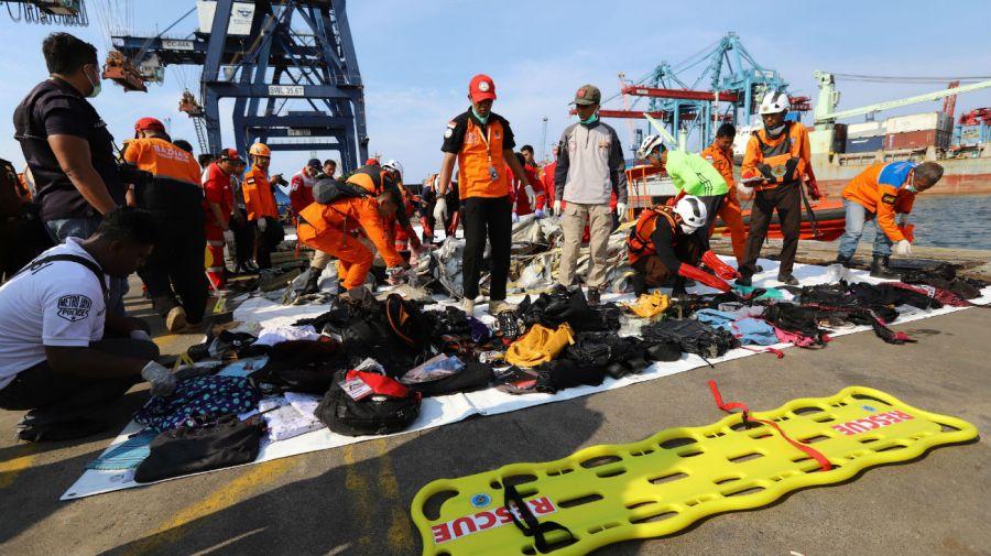 El accidente ocurrió cerca de la isla de Java.