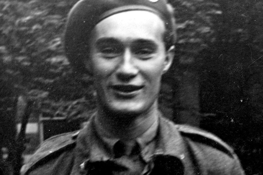 Joachim Rønneberg, previo a la operación.