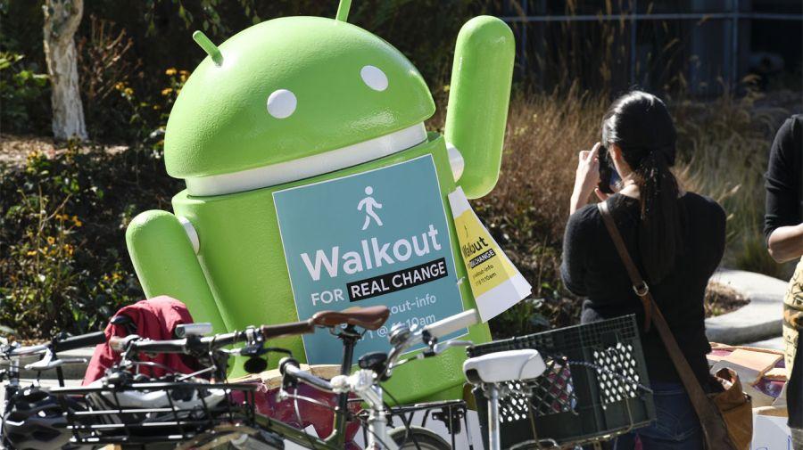 La protesta de los trabajadores de Google