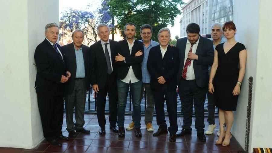 Roberto García, José Ignacio López, Marcelo Longobardi, Ricardo Kirschbaum, Nicolas Wiñazki, Ursula Ures.