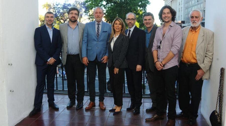 Javier Calvo, Edi Zunino, Gustavo González, Agustino Fontevecchia, Andrew Graham Yoll
