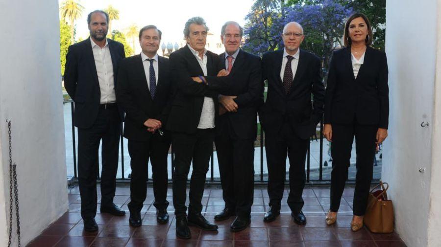 Carlos Guyot, Néstor Sclauzero, Héctor D'Amico, Jorge Fernández Díaz, Liliana Parodi.