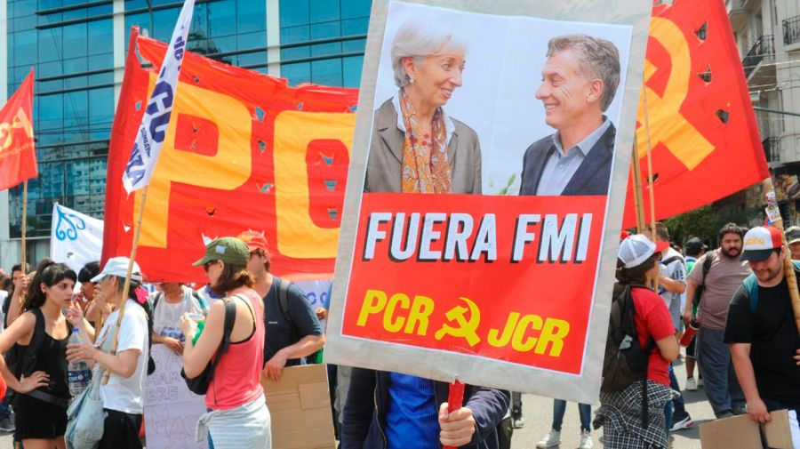 Marcha contra el G20 11302018