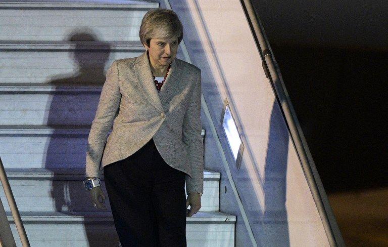Theresa May argentina