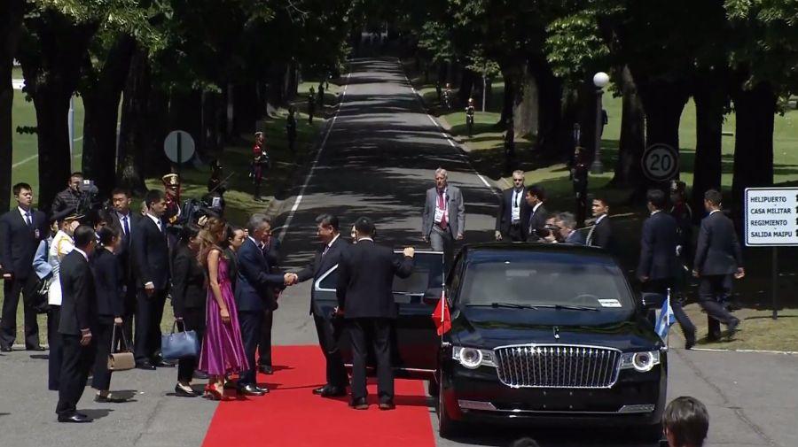 Macri recibió al presidente chino Xi Jinping.