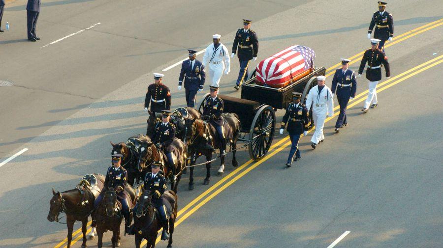 preparativos funeral george bush
