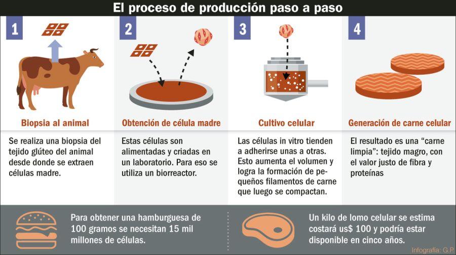 La investigación para lograr carne artificial hace sensibles avances.