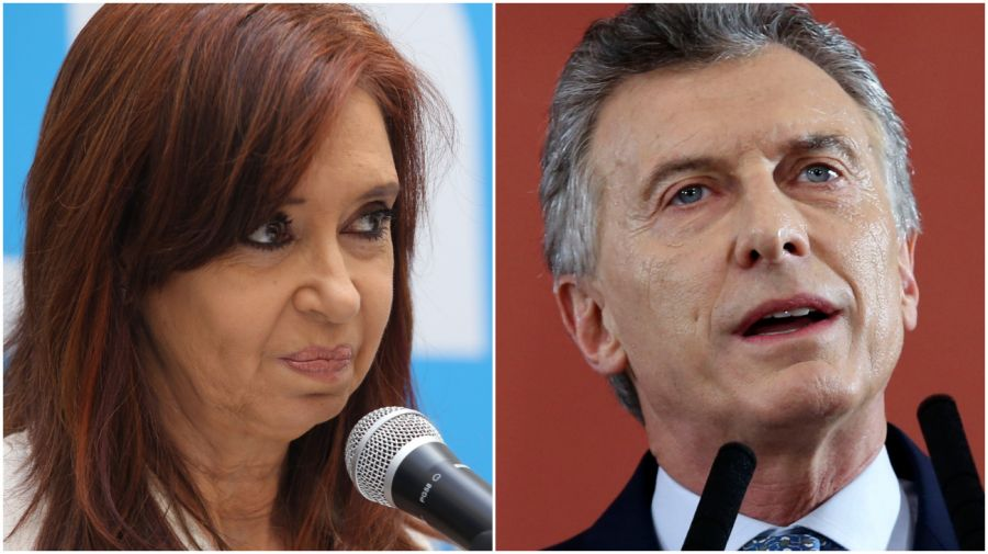 Cristina Kirchner y Mauricio Macri