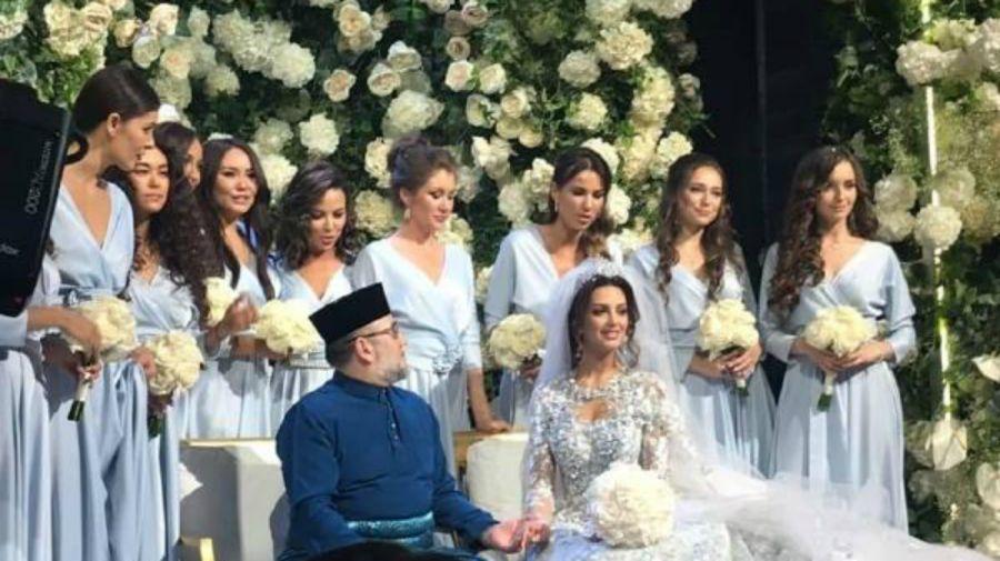 boda abdicacion rey malasia