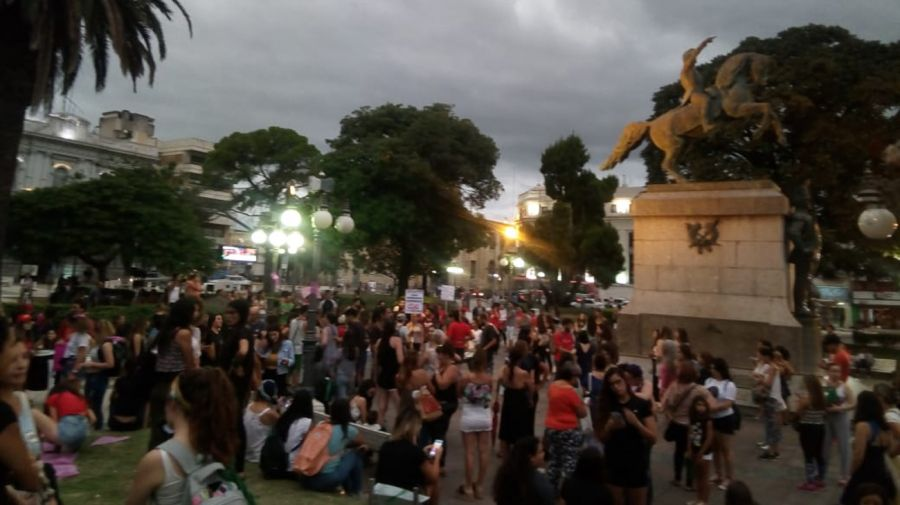 Marcha de justicia por Agustina. Gentileza aimdigital.com.ar