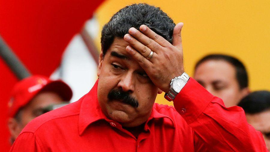 Nicolás Maduro, aparece primero en el listado de la UIF.