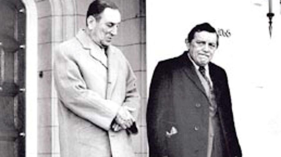 Perón y José Ber Gelbard, su ministro de Economía en 1974