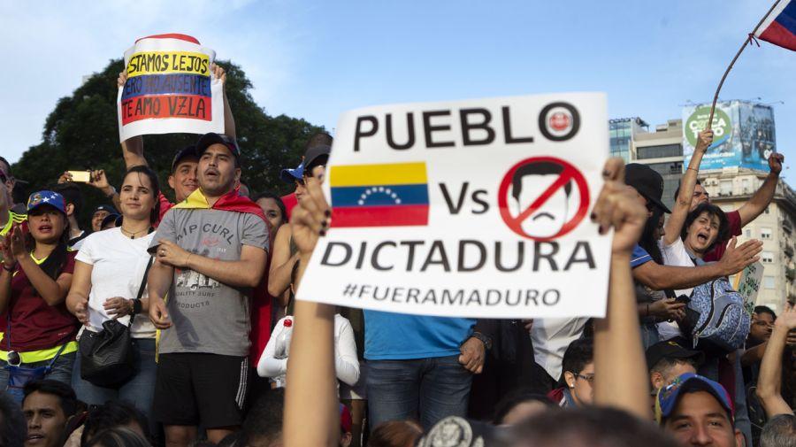 20190123 Protestas por Venezuela en Buenos Aires