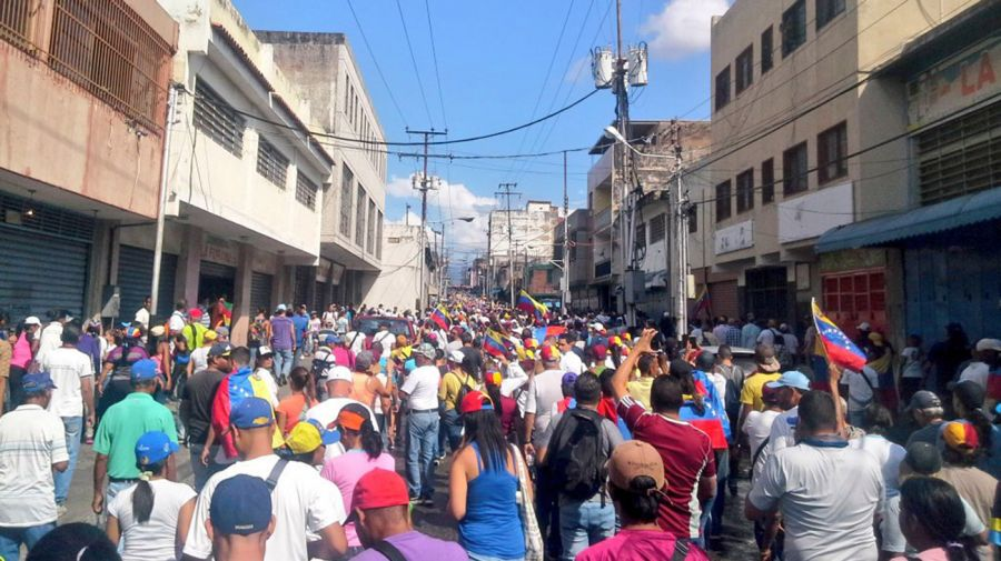 Protesta Venezuela 01232019