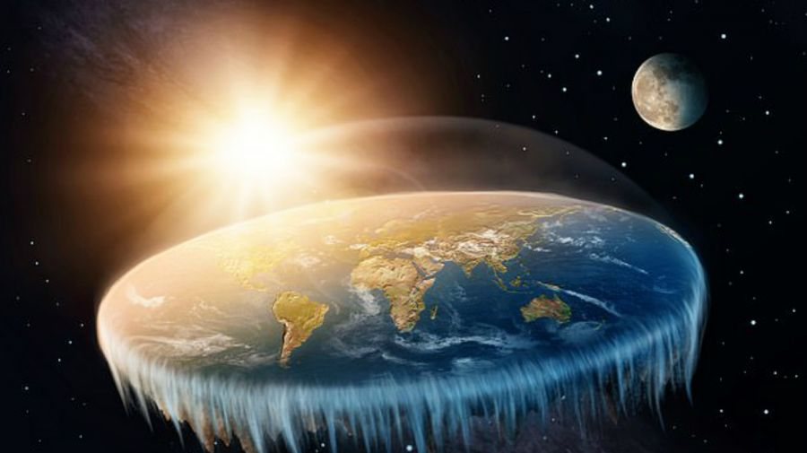 Flat Earth Society eclipse