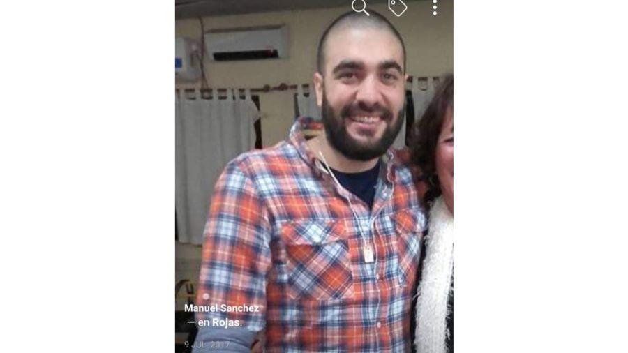 Manuel Sánchez tiene 29 años y desapareció el sábado 26 de enero.