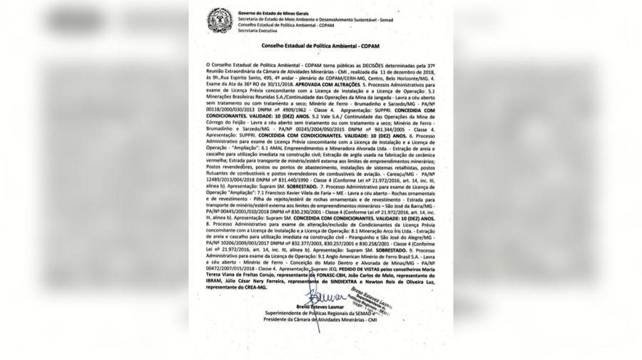 20190129 Colapso represa Brasil1