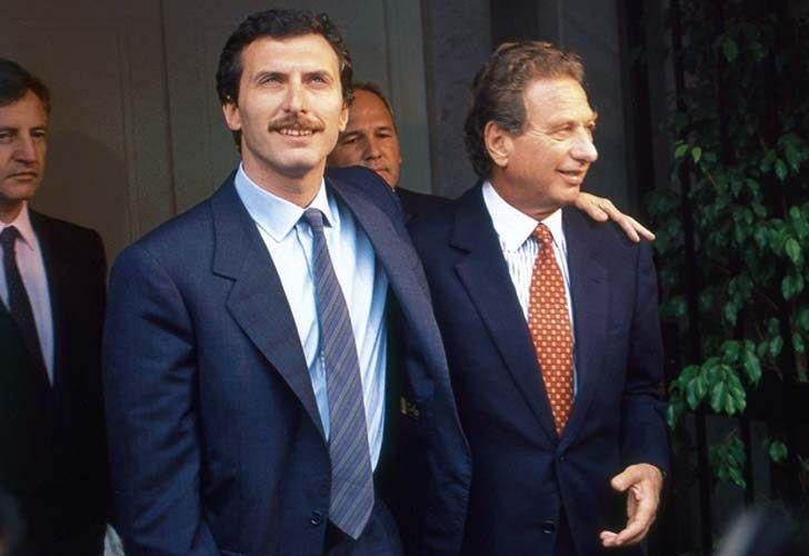 El día que Franco Macri comparó a Mauricio con Tony Blair
