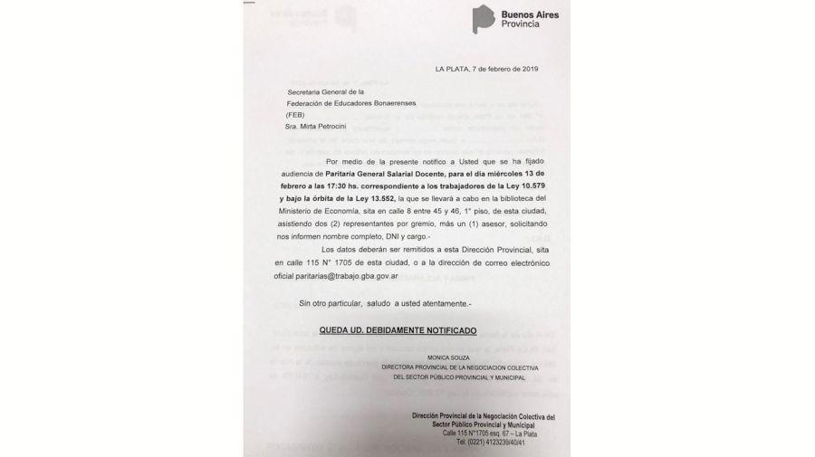 paritarias 20190207