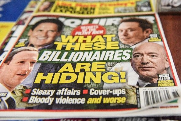 Amazon CEO Jeff Bezos Accuses National Enquirer Parent Company AMI Of Extortion