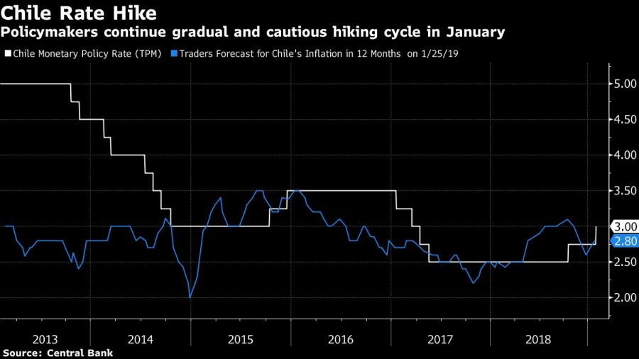 Policymakers continue gradual and cautious hiking cycle in January