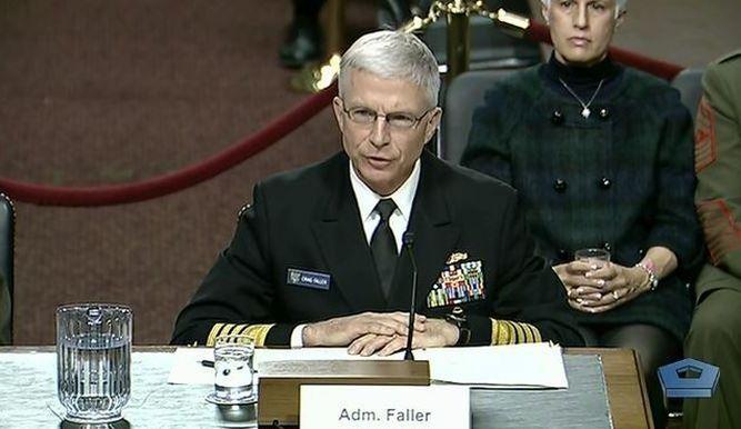 Jefe del Comando Sur de Estados Unidos,almiranteCraig Faller.