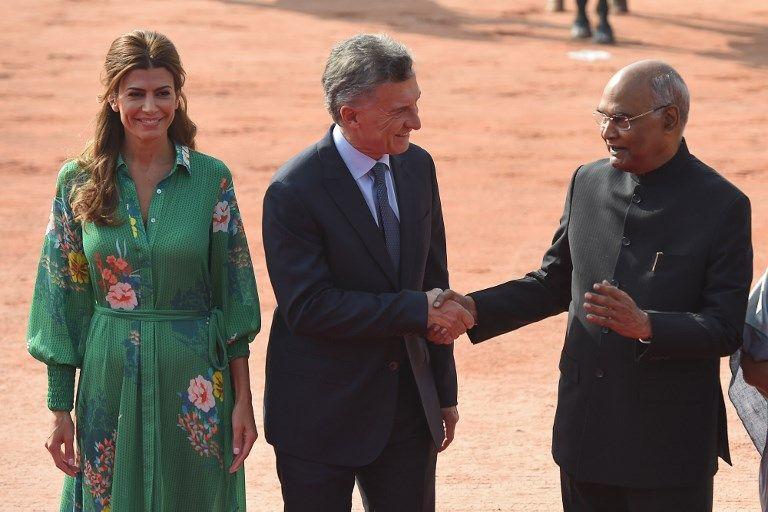 macri viaje oficial india