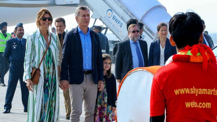 Macri visita La India 20190218