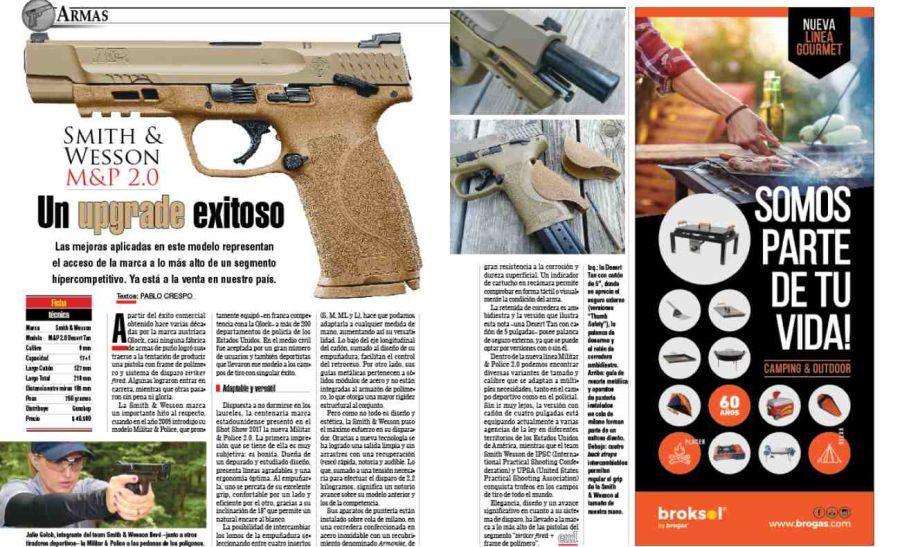 Pistola Smith & Wesson M&P 2.0: un upgrade exitoso